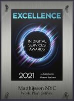 Excellence in digital services awards NYC 2021-1